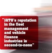 """JATO's reputation in the fleet management and vehicle finance industries is second-to-none"""